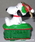 Snoopy on Caboose