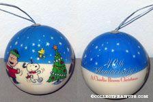 A Charlie Brown Christmas 40th Anniversary Ball Ornament