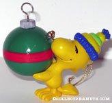 Woodstock holding ornament Ornament