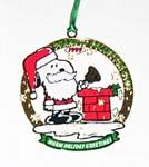 Snoopy as Santa ringing Bell