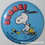 Snoopy and Woodstock play Hockey