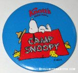 Peanuts & Snoopy Knott's Pinback Buttons