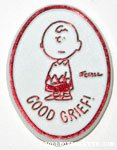 Charlie Brown 'Good Grief' Clip Emblem
