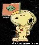 Snoopy as Astronaut Lapel pin