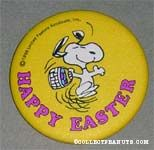Happy Easter Snoopy with Easter Basket