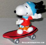 Snoopy on Skateboard