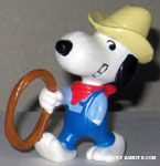 Cowboy Snoopy with Lariat