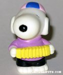Snoopy playing Accordion Figure