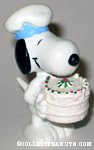 Chef Snoopy with Cake