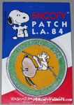 Snoopy Pole Vaulting Patch