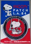 Snoopy Gymnast on rings Patch