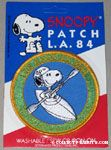 Snoopy in Kayak Patch