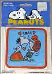 Snoopy kissing Peppermint Patty Patch