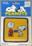 Snoopy handing Dogdish to Charlie Brown Patch