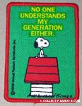 Snoopy on doghouse - No one understands my generation either Patch