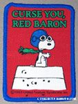 Flying Ace on doghouse 'Curse you, Red Baron' Patch