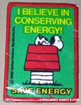 Snoopy on doghouse 'I believe in conserving energy' Patch