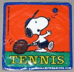 Snoopy on bike 'Cycling Champ' Patch