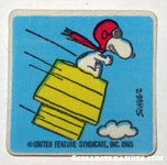 Flying Ace on Doghouse Patch
