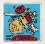 Charlie Brown on Pitcher's Mound Patch