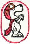Snoopy as Flying Ace Patch