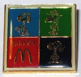 Snoopy Flying Ace, Beaglescout and Joe Cool McDonald's Pin