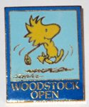 Woodstock golfing 'Woodstock Open' Pin