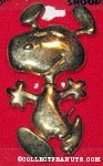 Snoopy dancing pin
