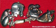Schroeder & Lucy pin
