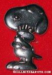 Snoopy hugging Woodstock pin