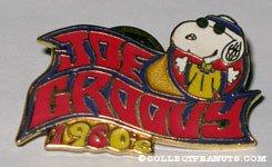 Snoopy Hippie 'Joe Groovy 1960' Pin
