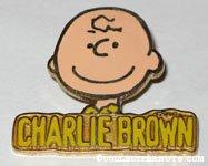 Charlie Brown Portrait Pin
