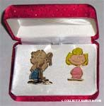 Linus and Sally Pin Set