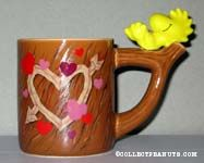 Woodstock on Tree Trunk Mug/Planter