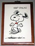 Keep smiling Plaque