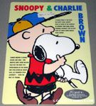Charlie Brown carrying Snoopy Plastic Card
