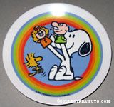 Snoopy & Woodstock Pawpets Melamine Plate