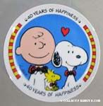 Peanuts & Snoopy Willitts Designs Plates