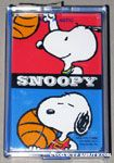 Snoopy playing basketball Playing Cards