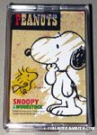 Snoopy & Woodstock looking at each other Playing Cards
