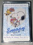 Snoopy & Woodstock with flower bouquets Playing Cards
