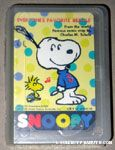 Snoopy listening to Woodstock whistling Playing Cards