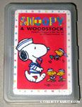 Snoopy & Woodstocks sailors Playing Cards