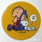Peanuts & Snoopy Pogs