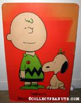 Snoopy, Charlie Brown & Woodstock 'Happiness is peace & love throughout the world' Poster