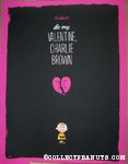 Be My Valentine, Charlie Brown by Jayson Weidel - Variant