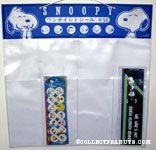 Snoopy portraits Hallmark Katsuwa Sticker Display piece