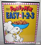 'Chef Snoopy Chex Party Mix Poster