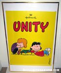 Lucy & Schroeder by Piano 'Unity' Hallmark poster