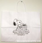 Snoopy with Gift Box Snoopy's Gallery and Gift Shop Shopping Bag